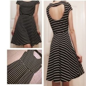 BCX | Black and White Stripe Dress!!!